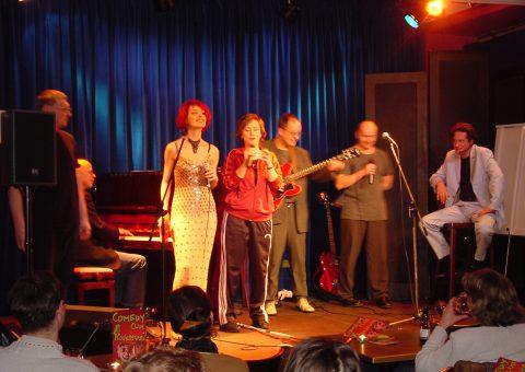 Live im Show im Comedyclub